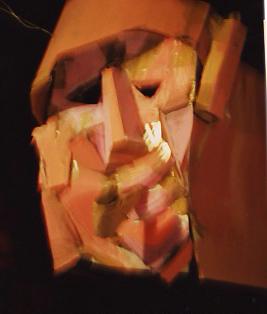14 sculpture cubiste papier